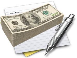 Займ денег под расписку