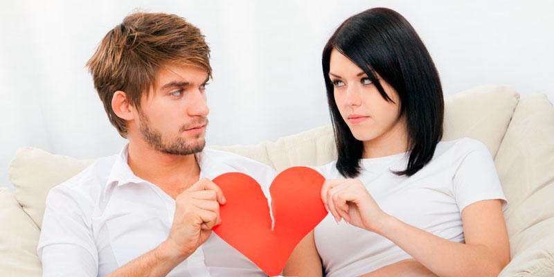 Укажите причину развода
