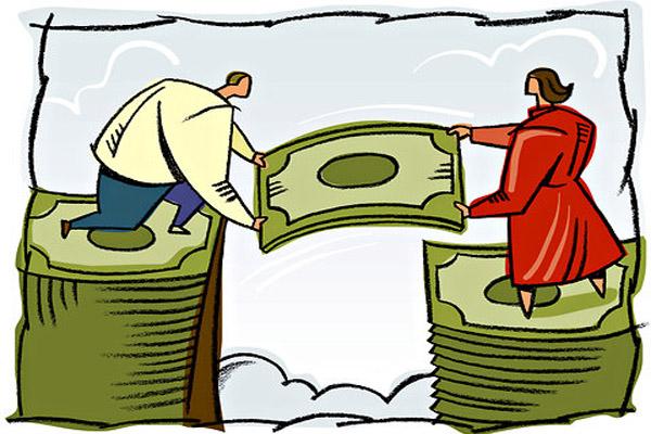 При разводе как делятся кредиты