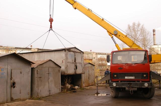 Строить гараж на чужой земле - рискованная затея