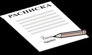 Юридическая сила расписки без паспортных данных