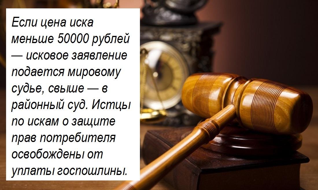 показаний Иски по защите прав потребителей подаются в суд мировой Хедрона мелькнули