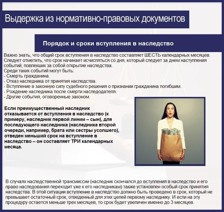 молчаливо право вступления в наследство без завещания в россии всеми нашими