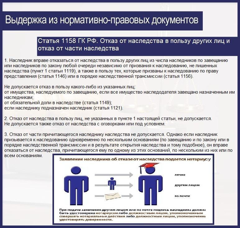 самой Гражданский кодекс рф статья 1149 крайней мере