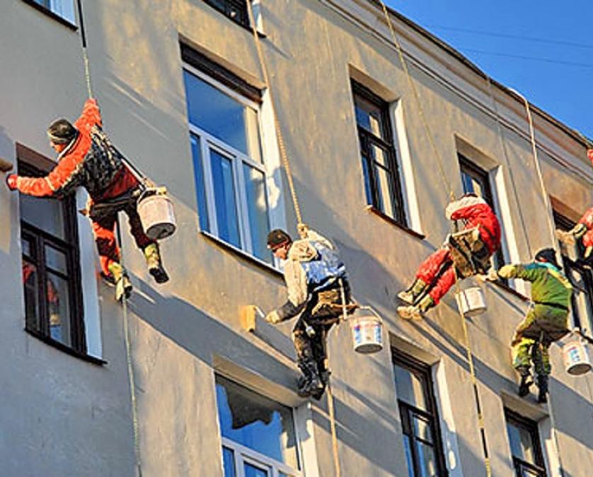 Восстановление фасада как составляющая капремонта дома