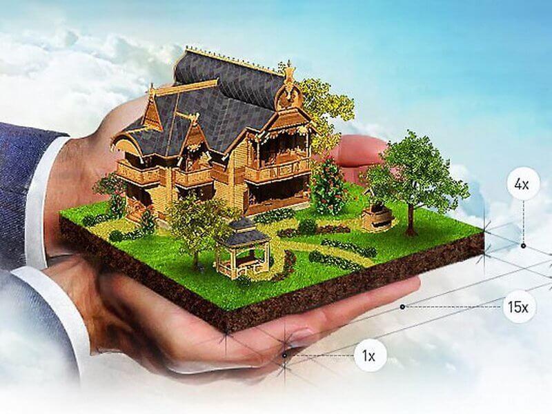 Если пенсионер владеет двумя земельными участками, то за один он будет платить полный налог уже без налогового вычета