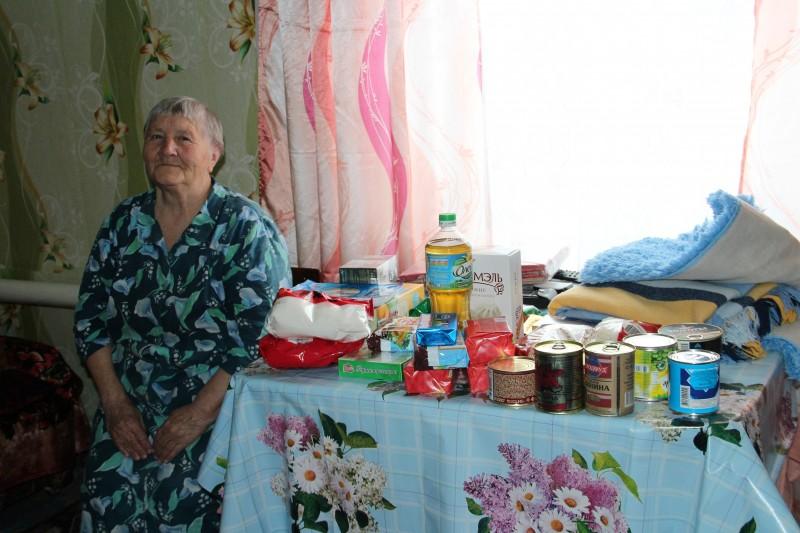 Малообеспеченные пенсионеры могут в результате благотворительных акций получить так необходимые им продукты