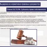 Способы защиты прав собственности