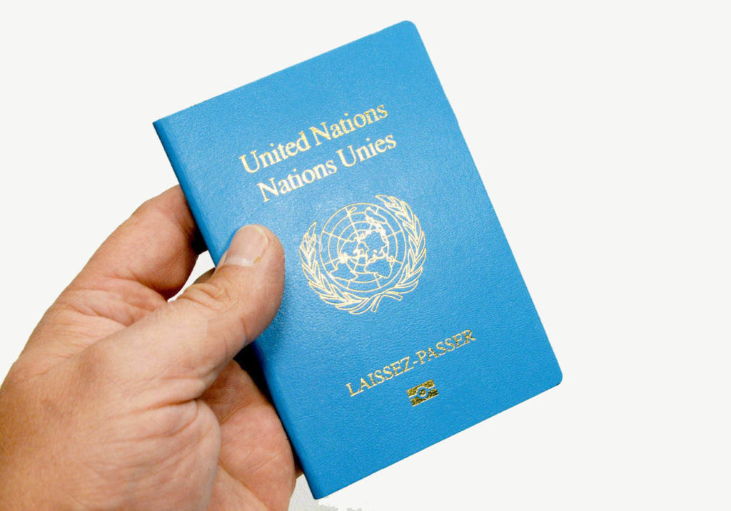 Иностранный паспорт