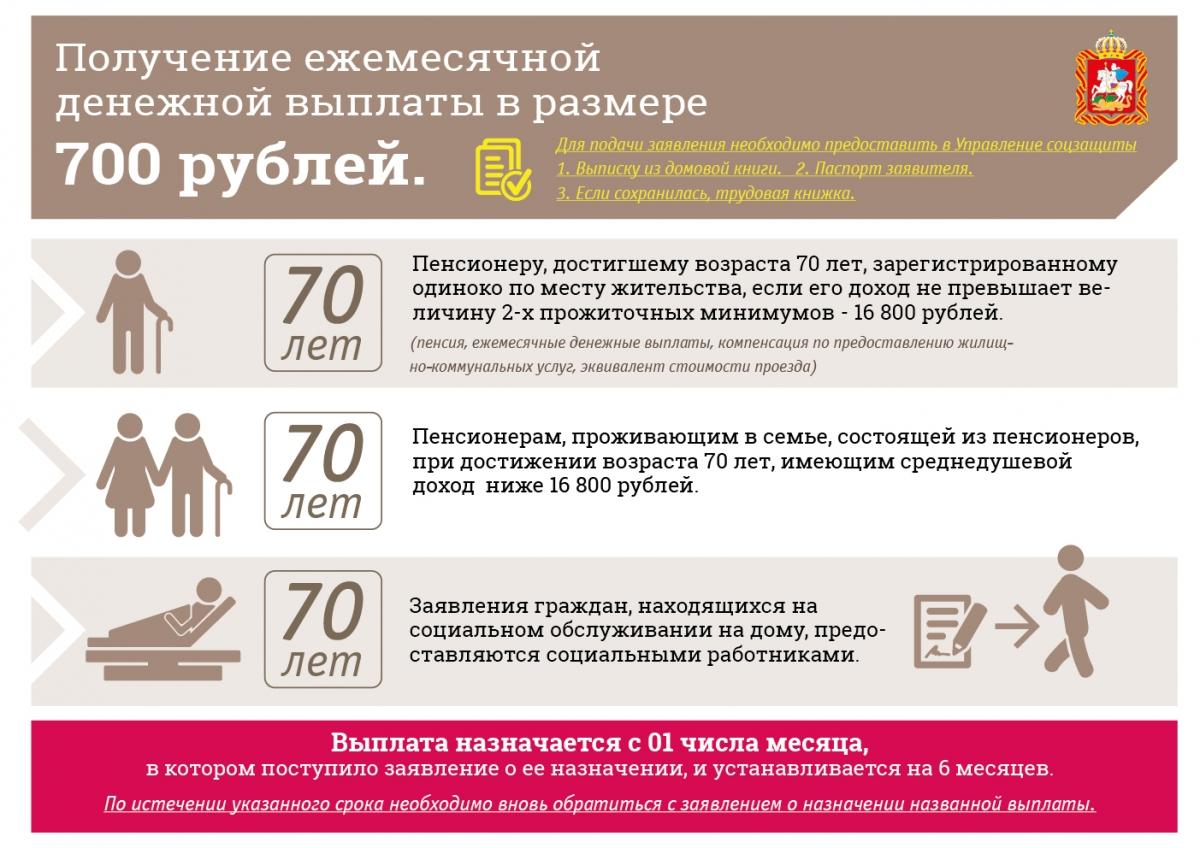 Надбавка к пенсии пенсионерам за 70 лет