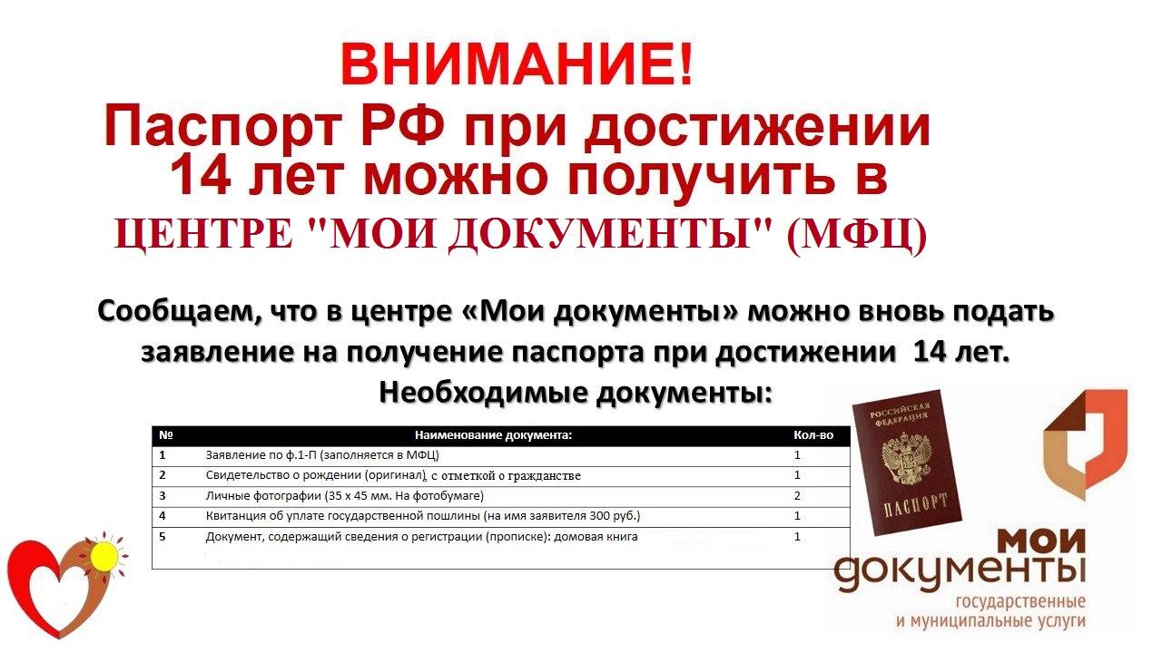 Документы для получения паспорта: собираем необходимые